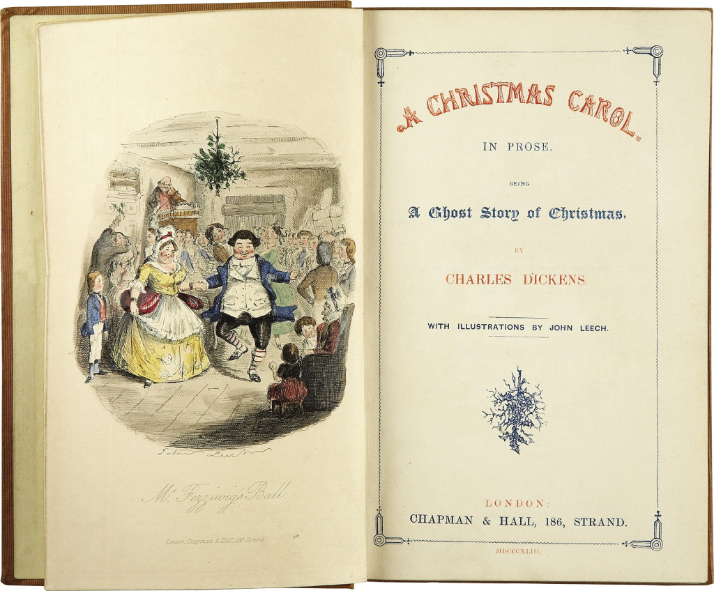 History of Christmas In America - A Christmas Carol