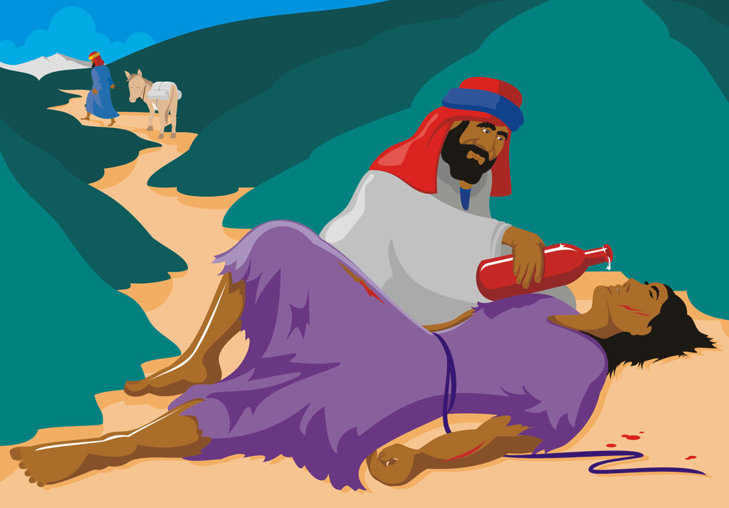 Embellish A Parable - The Good Samaritan