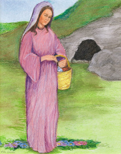 Easter Classroom Meditation - Jesus appears to Mary Magdalene