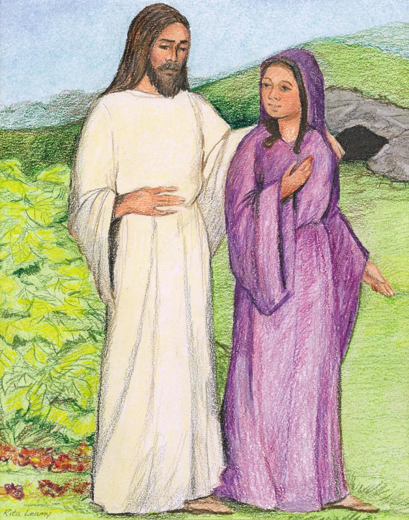 Jesus Appears to Mary Magdalene scene #3