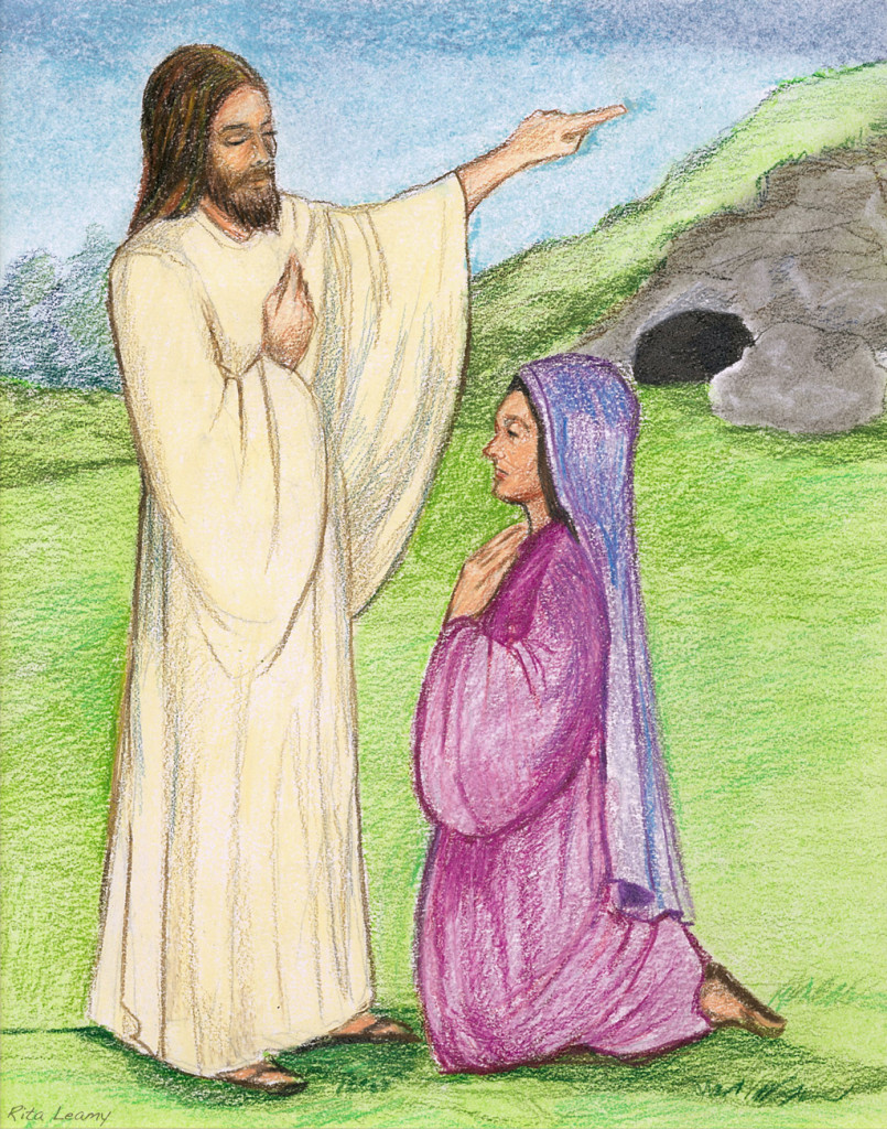 Jesus Appears to Mary Magdalene scene #6